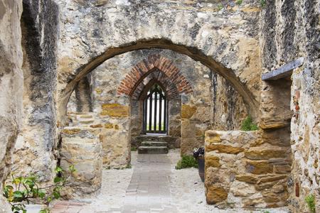 Historic Mission San Jose in San Antonio, Texas