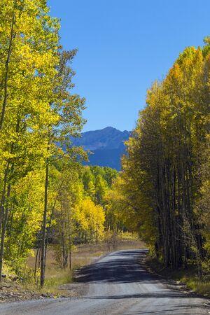 Kebler Pass Near Crested Butte, Colorado Rocky Mountains.