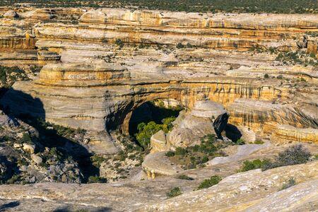 Sipapu Bridge in Natural Bridges National Monument in Utah.
