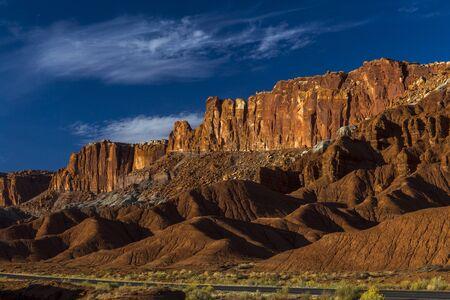Capital Reef National Park in Southern Utah. Historical Mormon Settlement