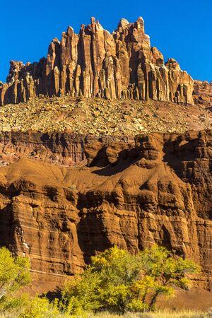 The Castle at Capital Reef National Park in Utah