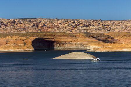 Lake Powell Fom Hite, Utah, Glenn Canyon National Recreation
