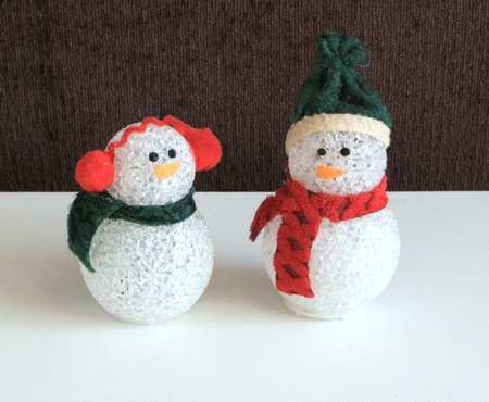 Christmas snowmen decorations
