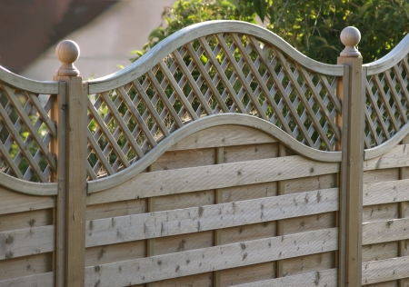 fence panel: Decorative fence panel