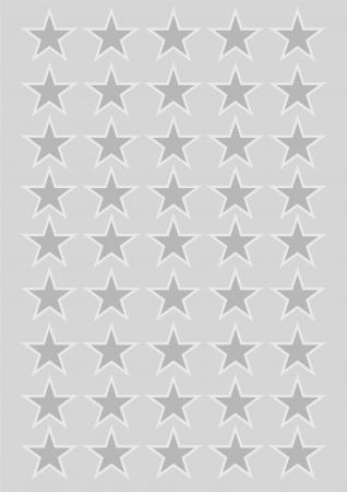Stars silver background photo