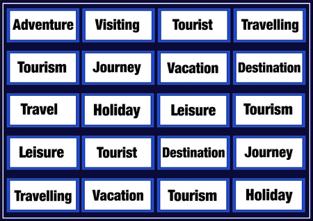 Tourism and leisure concept