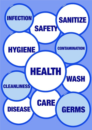 Health and hygiene concept Stock Photo