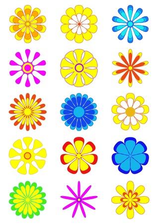 Flower designs Illustration