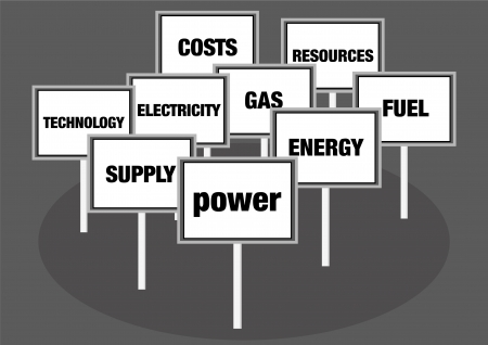 Power and energy concept illustration Stock Illustration - 15756770
