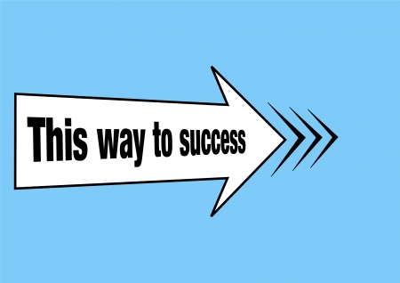 Success concept illustration Stock Photo