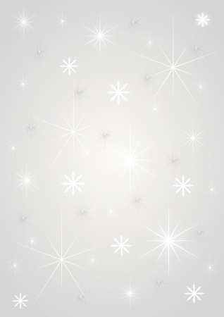 Background silver stars photo