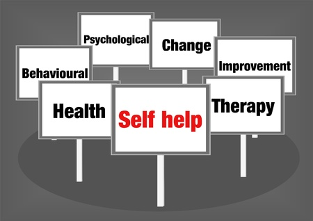 behavioral: Self help signs