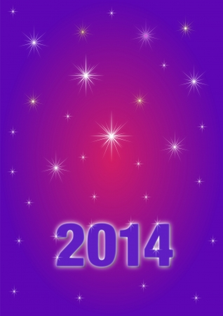 Background New year 2014