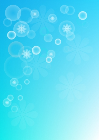 Background turquoise blue