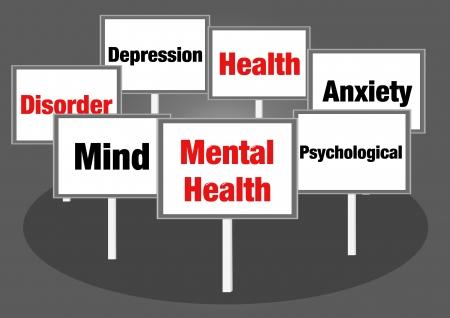 Mental health signs photo