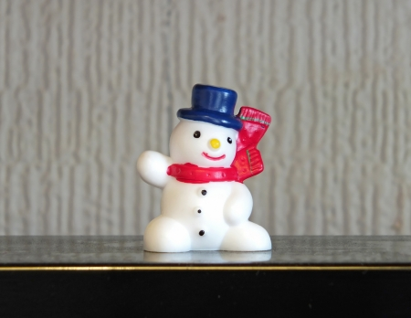 Christmas snowman character toy