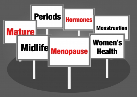 Menopause signs photo
