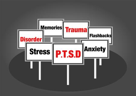 心的外傷後ストレスの兆候