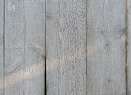 Wood panelling with frost