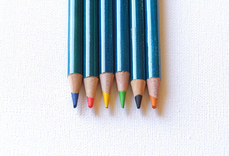 Colour pencils Stock fotó