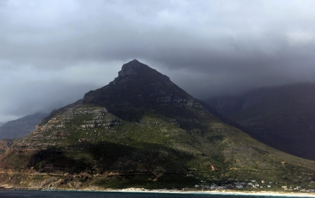 sentinel: The Sentinel in Hout Bay, Cape Peninsula, South Africa