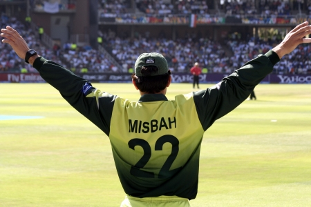 wanderers: Misbah at Twenty 20 Cricket in 2007 India versus Pakistan