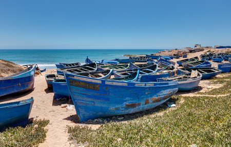 Landscapes by the ocean towards Tifnit in the south of Agadir - Morocco
