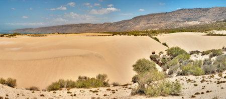 Sand dunes towards Tamri north of Agadir - Morocco