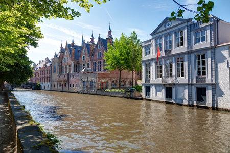Landscape of Belgium-View of Bruges