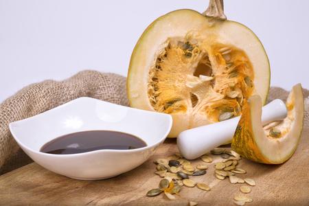 pits: Pumpkin oil