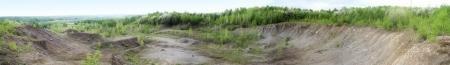 sand pit: panoramic sand pit