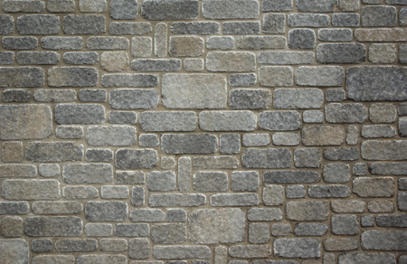 brick texture: brick texture background gray blocks masonry wall Stock Photo