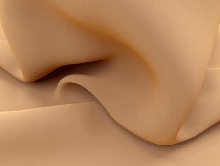 curves silk background satin cloth or liquid milk illustration
