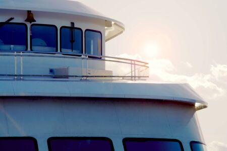 boat deck cruise ship marina tourism travel