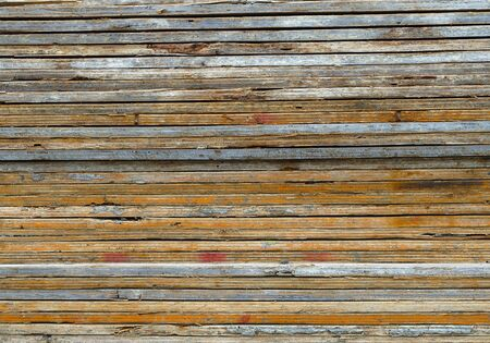 plywood texture side edge wood planks background horizontal lines pattern