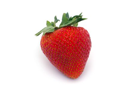 strawberry isolated on white background red fruit