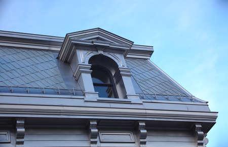 aluminum roof traditional architecture skylight window