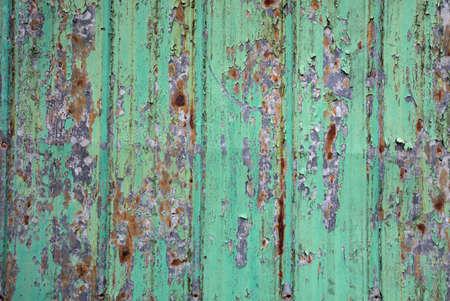 peeling paint metal texture rough grunge green background