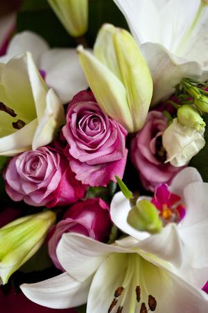 flower bunch: Close up of a flower bunch