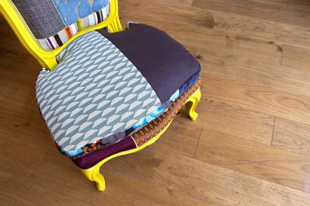 patchwork: Patchwork armchair
