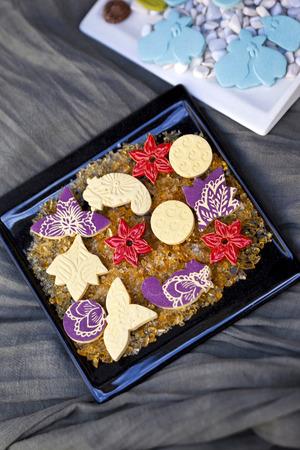 trickles: Decorative soaps Stock Photo