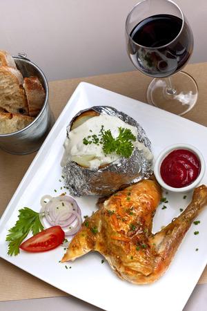 potatoe: Chicken, potatoe and cream