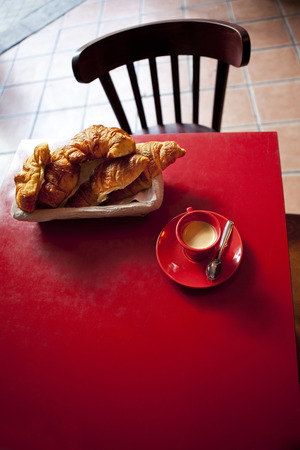 bistro: Break time in a French bistro Stock Photo