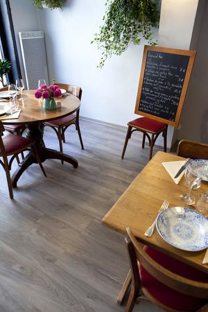 bistro: Interior of a French bistro