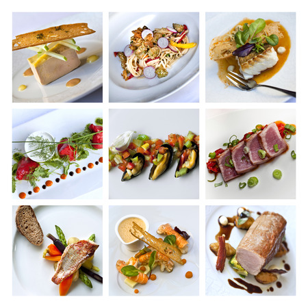 gastronomy: French gastronomy collage Stock Photo