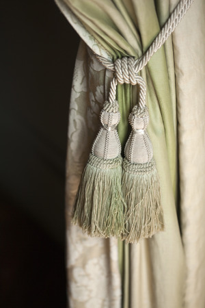 trimmings: Curtain and trimmings in a house