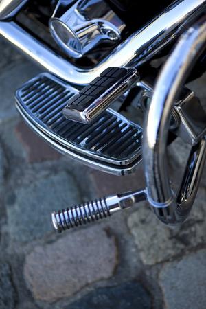 Detail of a motorbike body