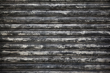 iron curtain: Close up of a rusty iron curtain