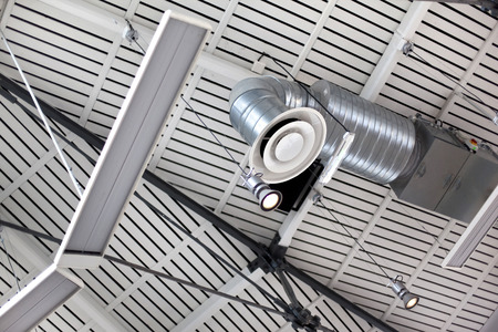 aeration: Ventilation and lighting in a modern building