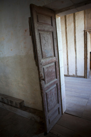 half timbered house: Interior of an old French house in South of France